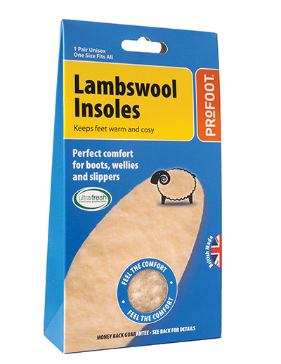 Lambswool Insoles from Profoot