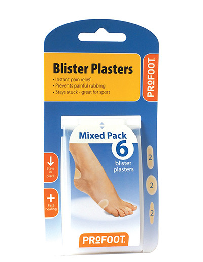 Blister Plasters Mixed Pack